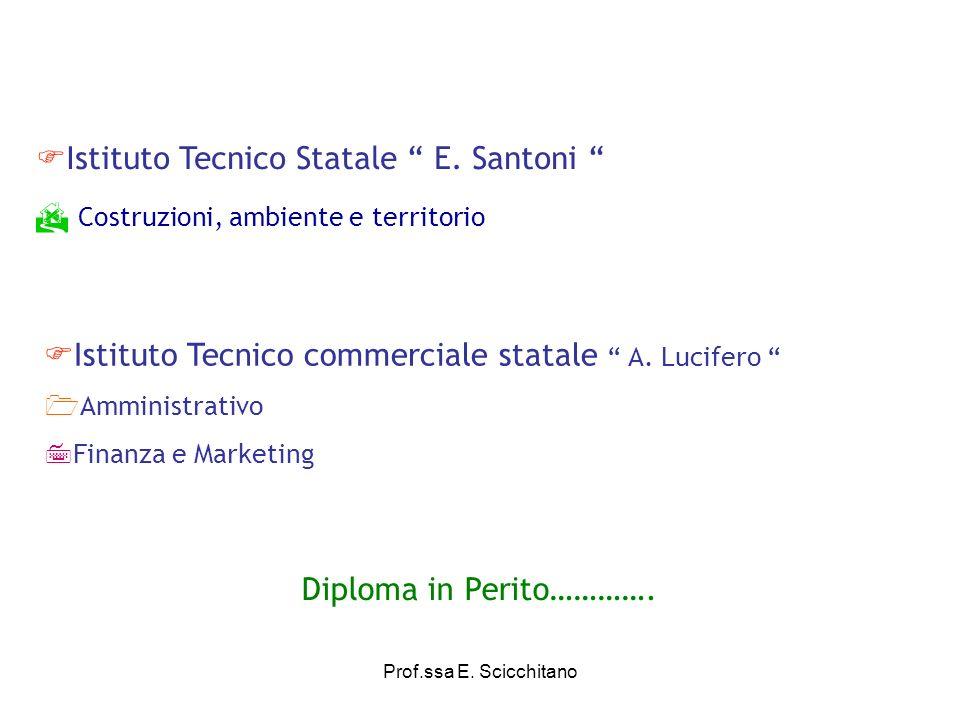 Istituto Tecnico Statale E. Santoni