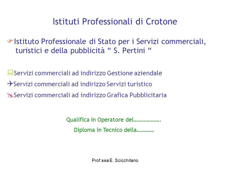 Istituti Professionali di Crotone