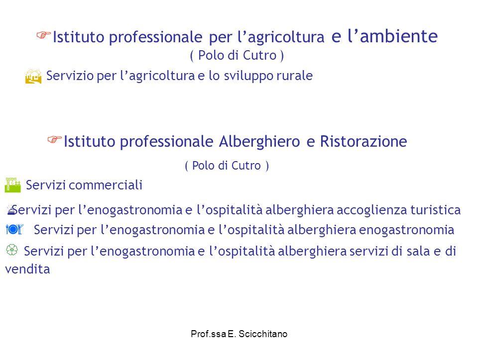 Istituto professionale Alberghiero e Ristorazione
