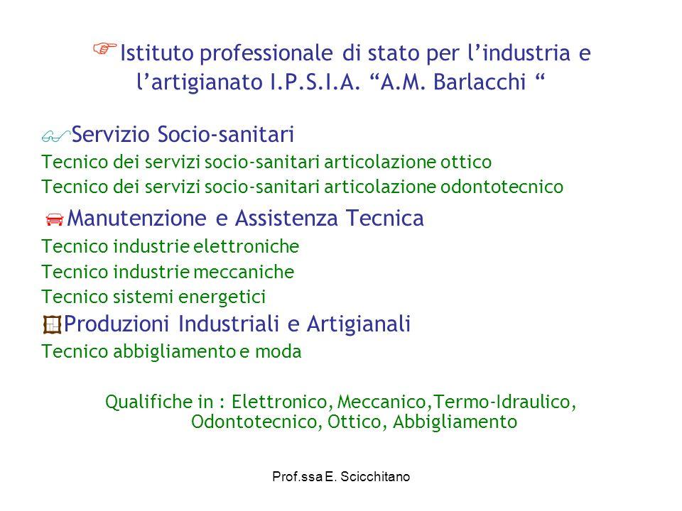 Istituto professionale di stato per l'industria e l'artigianato I. P