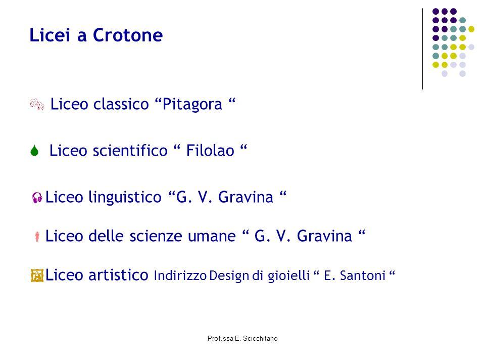 Licei a Crotone  Liceo classico Pitagora