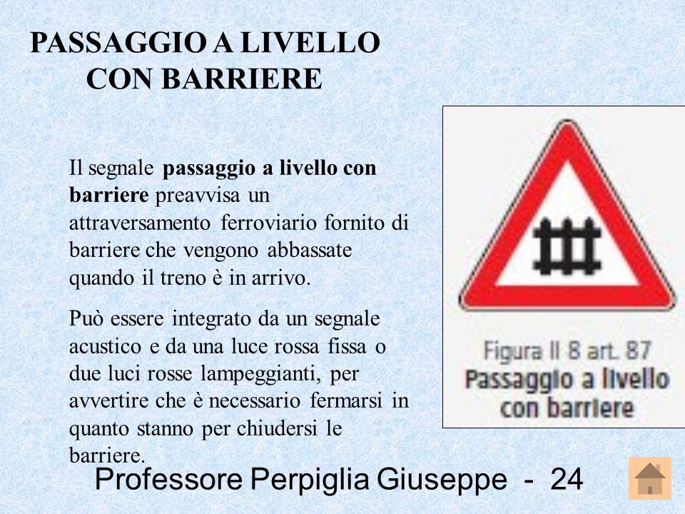 PASSAGGIO A LIVELLO CON BARRIERE
