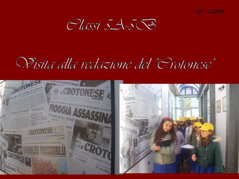 Visita alla redazione del Crotonese