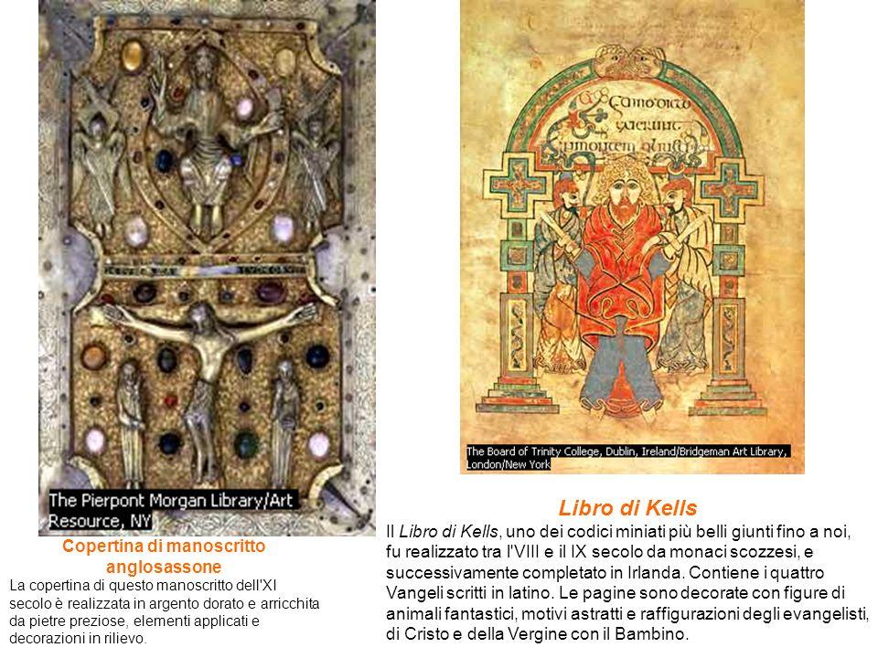 Copertina di manoscritto anglosassone