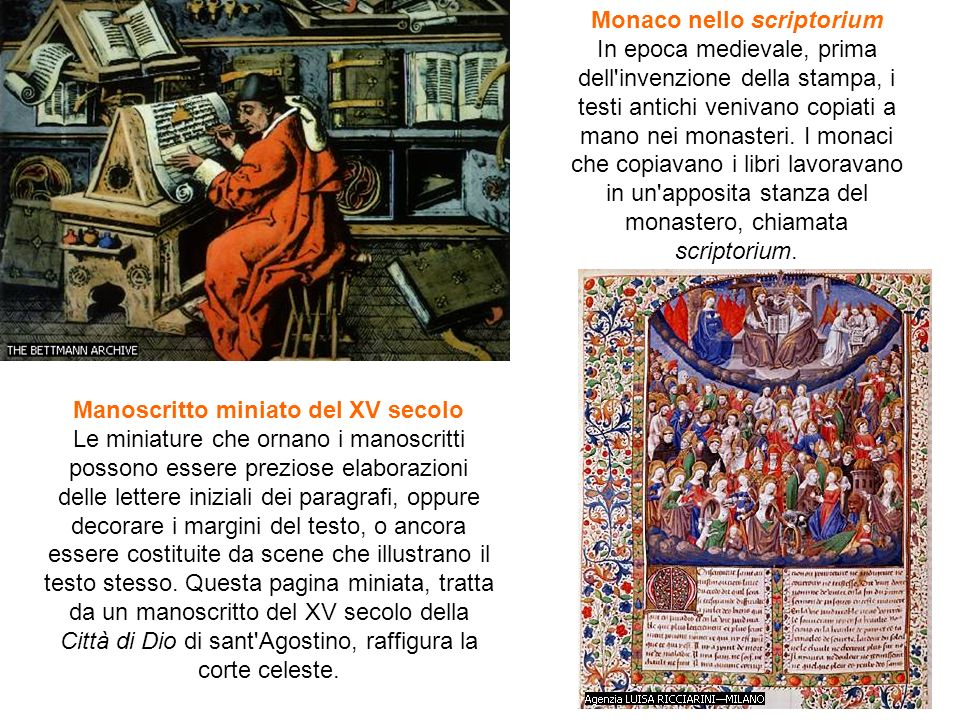 Monaco nello scriptorium