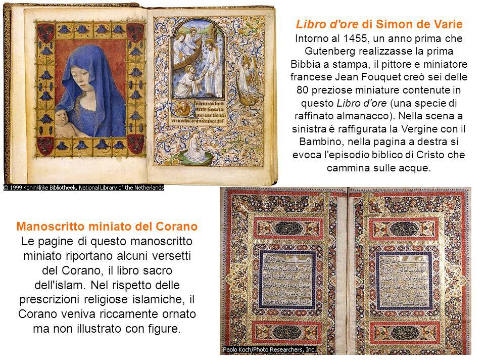 Libro d ore di Simon de Varie