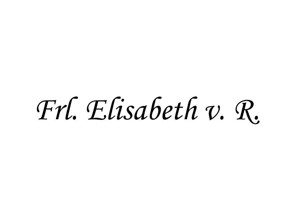 Frl. Elisabeth v. R.