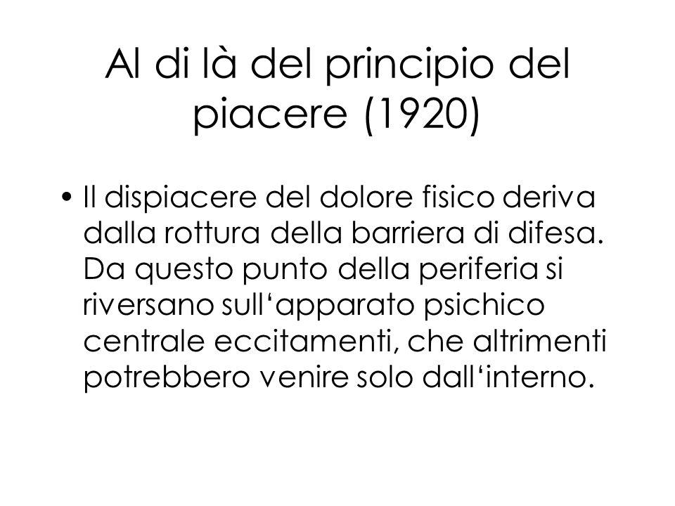 Al di là del principio del piacere (1920)