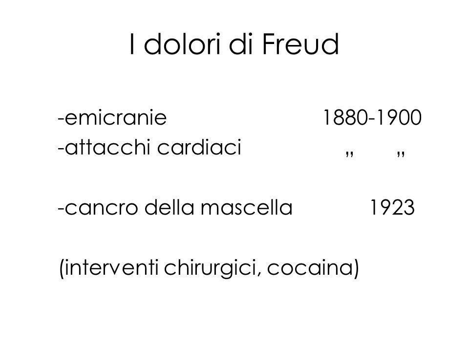"""I dolori di Freud -emicranie 1880-1900 -attacchi cardiaci """" """""""