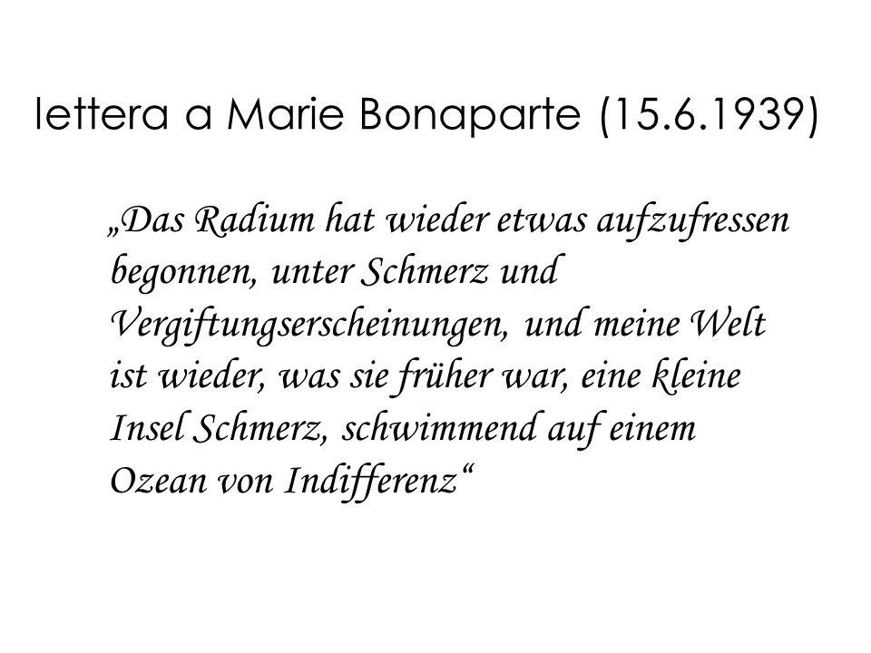 lettera a Marie Bonaparte (15.6.1939)