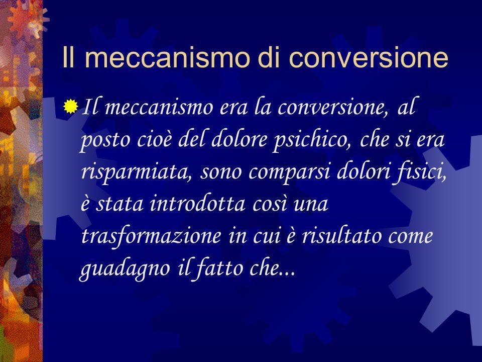 Il meccanismo di conversione