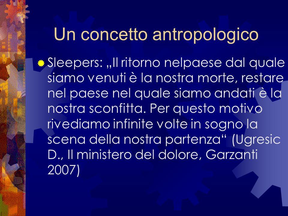 Un concetto antropologico