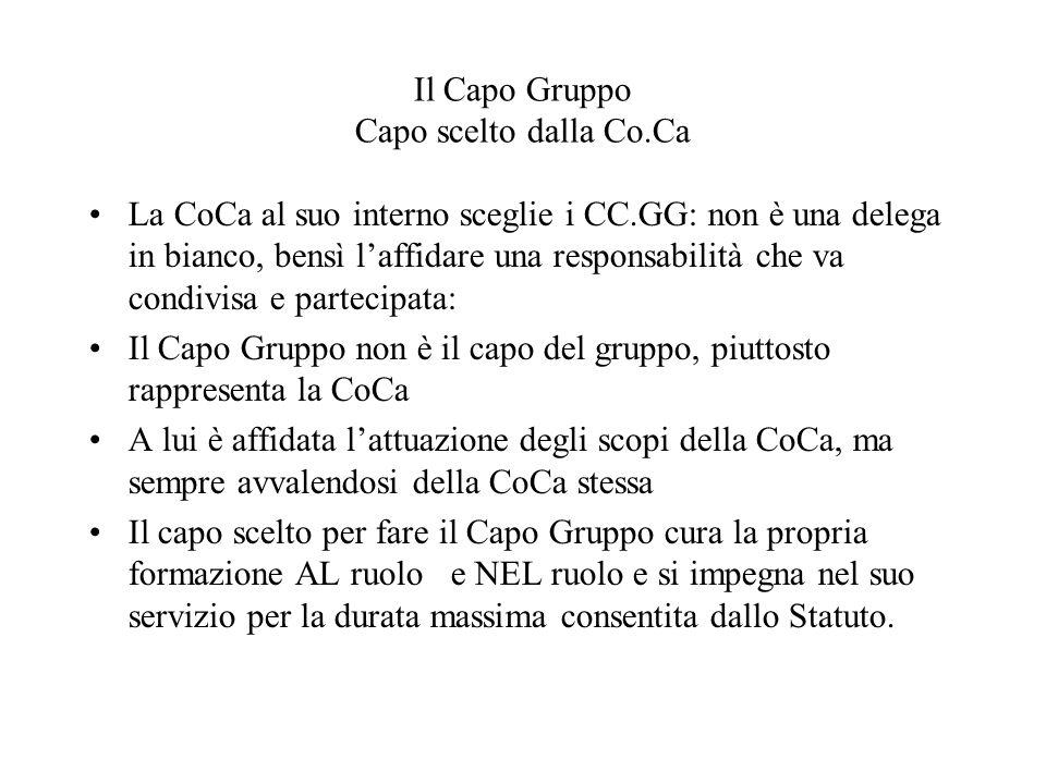 Il Capo Gruppo Capo scelto dalla Co.Ca