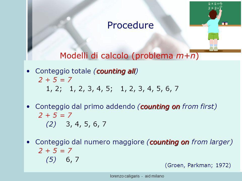 Modelli di calcolo (problema m+n)