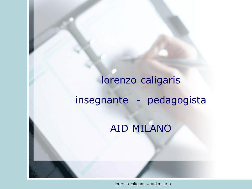 insegnante - pedagogista AID MILANO