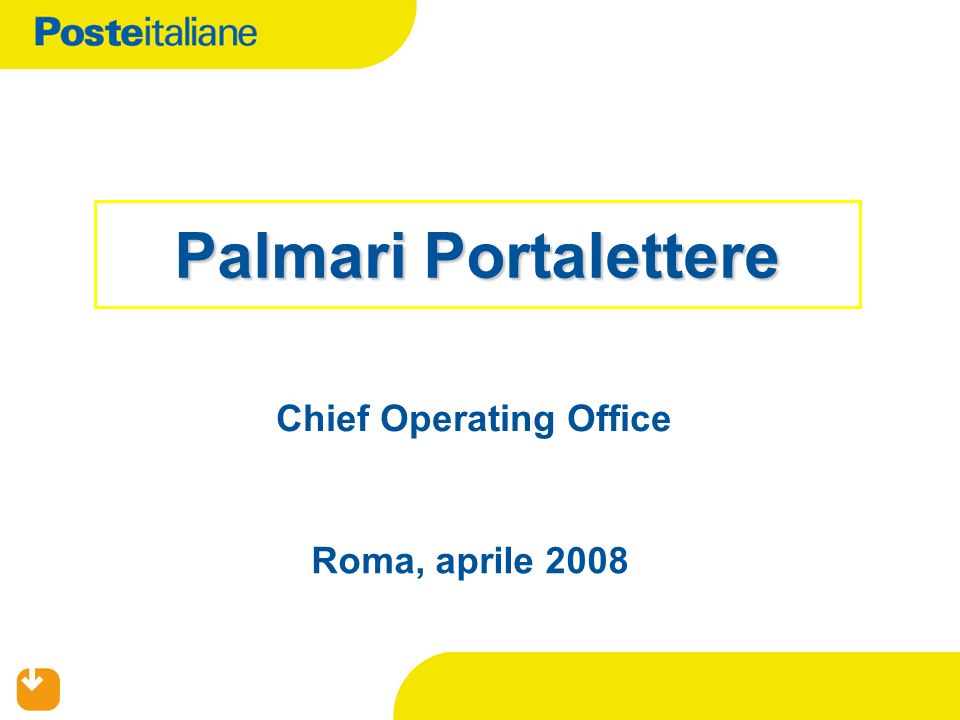 Chief Operating Office