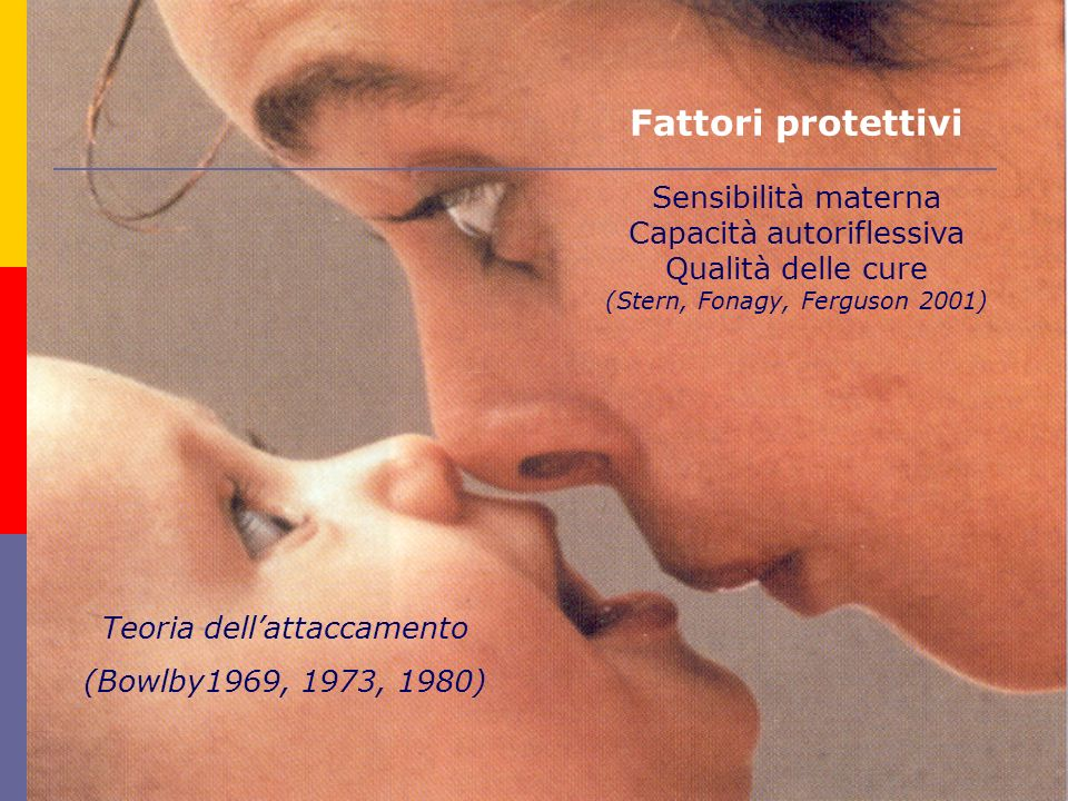Fattori protettivi Sensibilità materna Capacità autoriflessiva