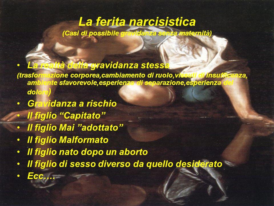 La ferita narcisistica (Casi di possibile gravidanza senza maternità)