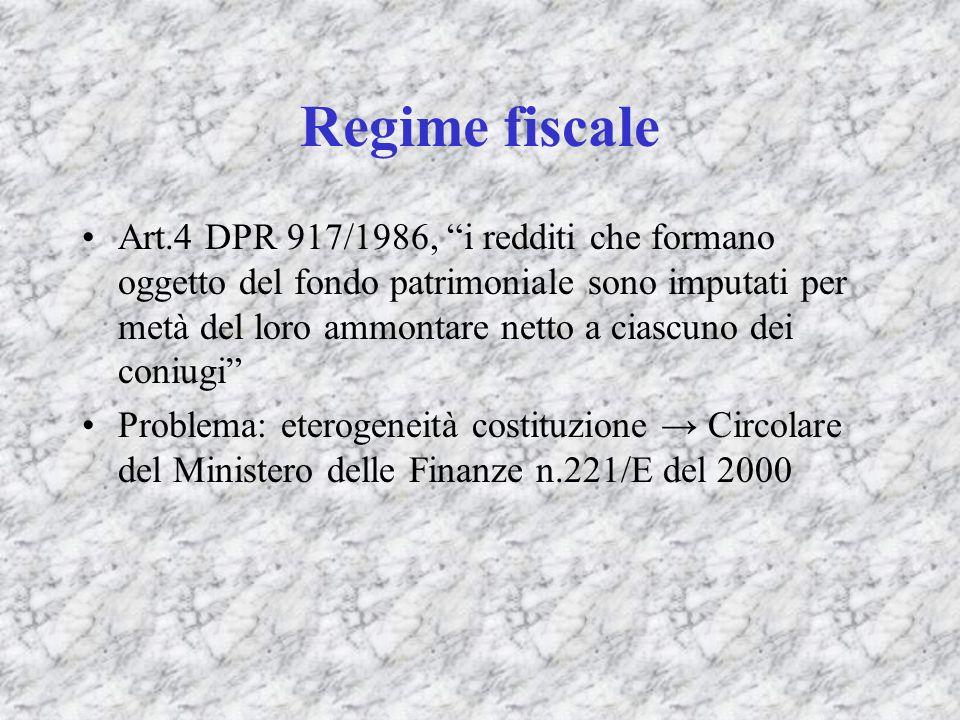 Regime fiscale