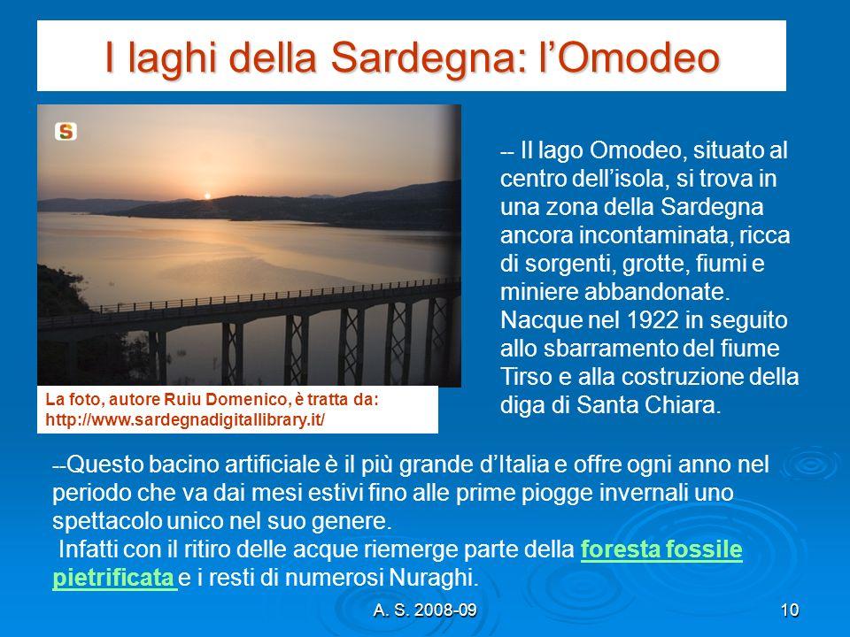 I laghi della Sardegna: l'Omodeo