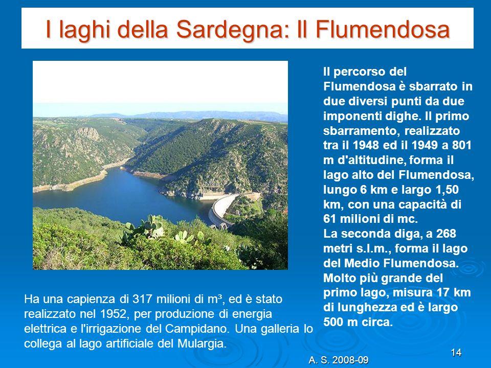 I laghi della Sardegna: Il Flumendosa