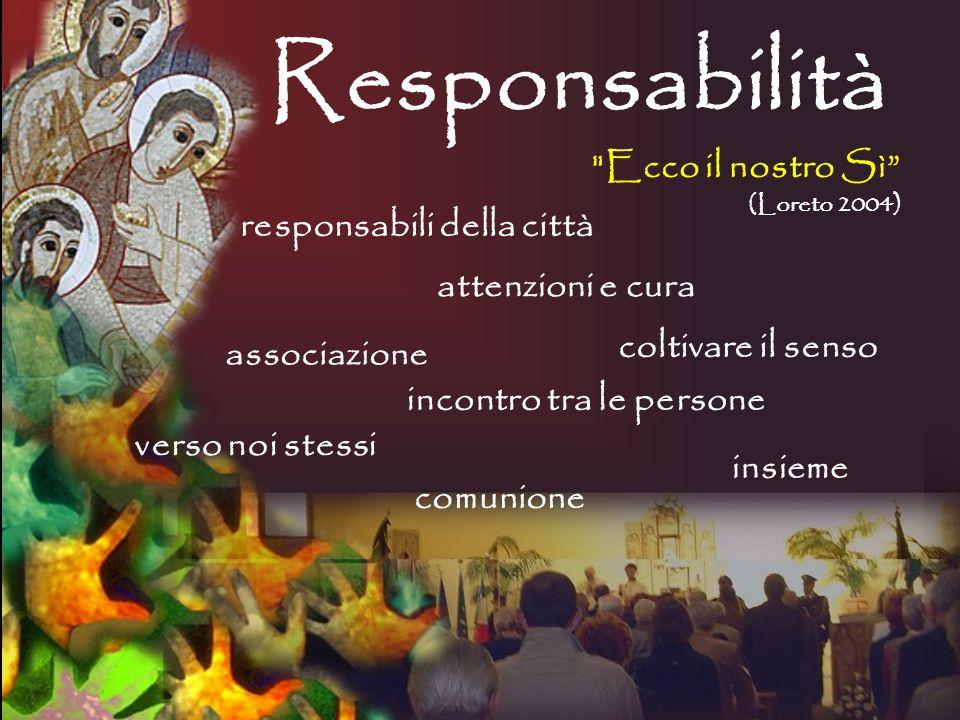 Responsabilità Ecco il nostro Sì responsabili della città