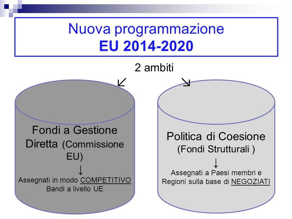 Nuova programmazione EU 2014-2020