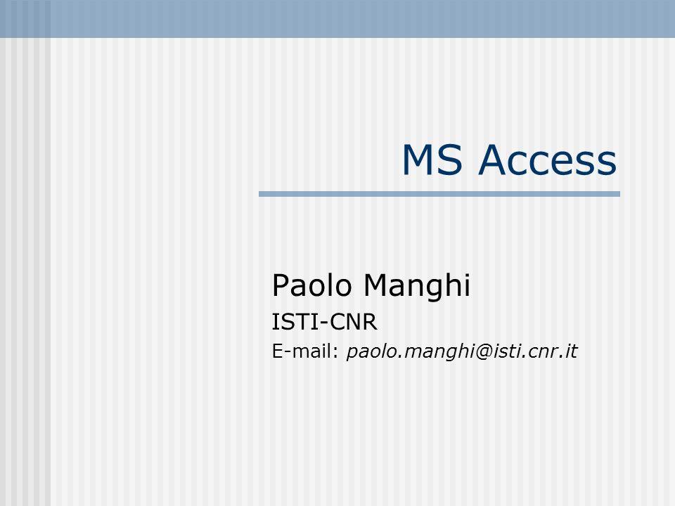 Paolo Manghi ISTI-CNR E-mail: paolo.manghi@isti.cnr.it