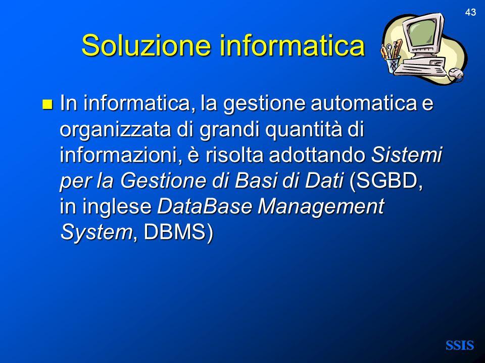 Soluzione informatica