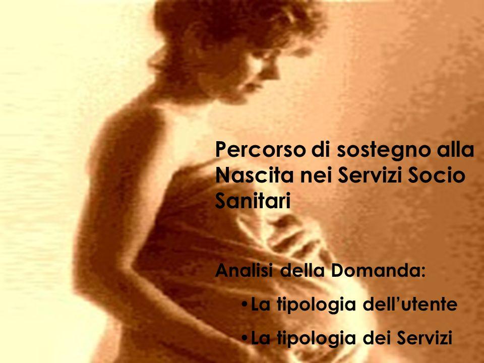 Percorso di sostegno alla Nascita nei Servizi Socio Sanitari