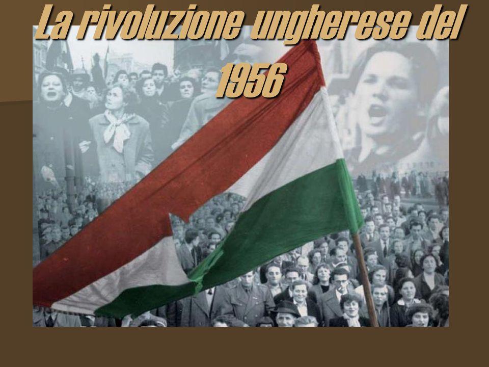 La rivoluzione ungherese del 1956