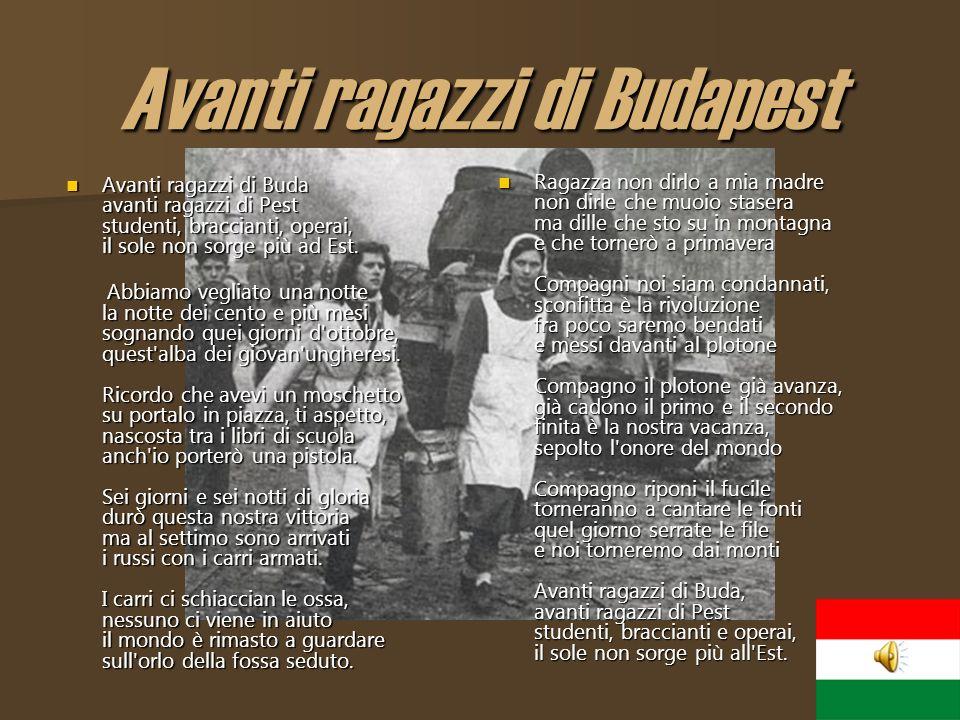 Avanti ragazzi di Budapest