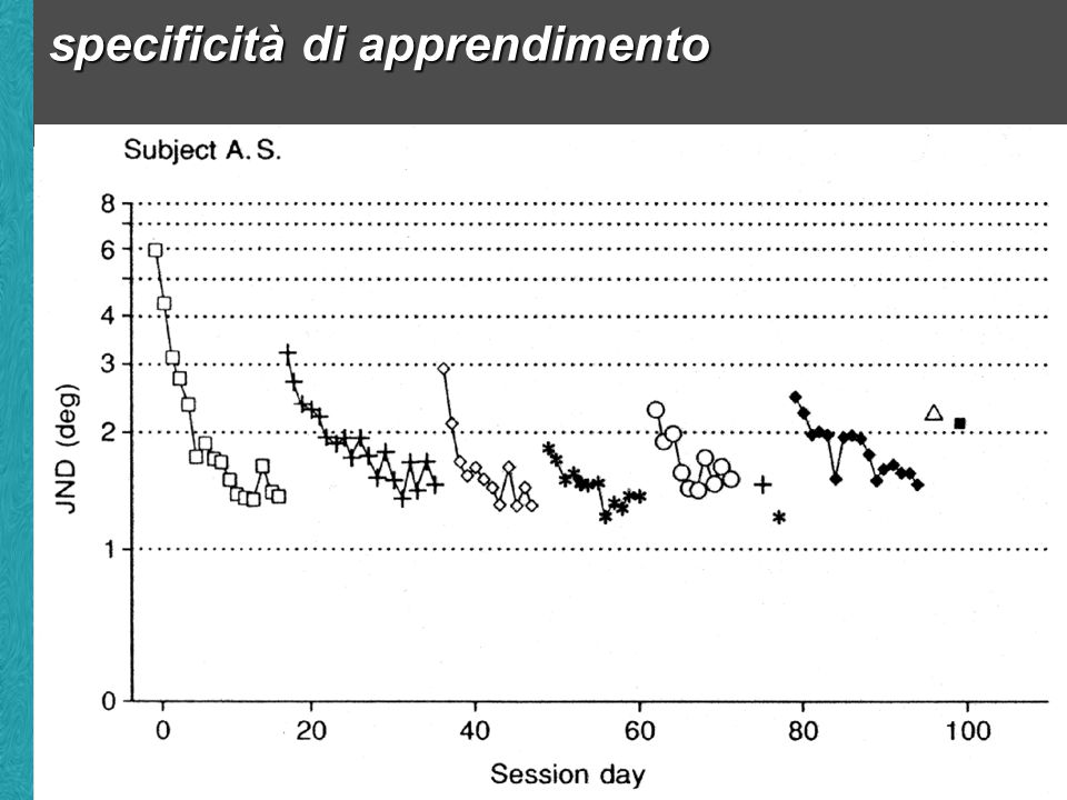 specificità di apprendimento