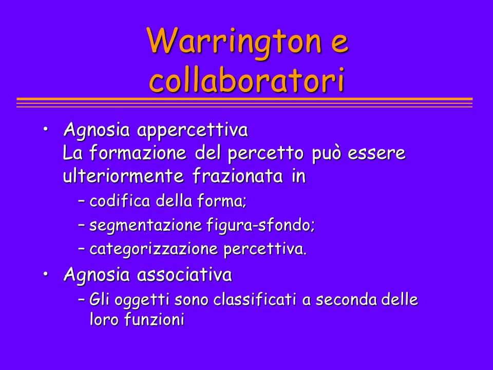Warrington e collaboratori