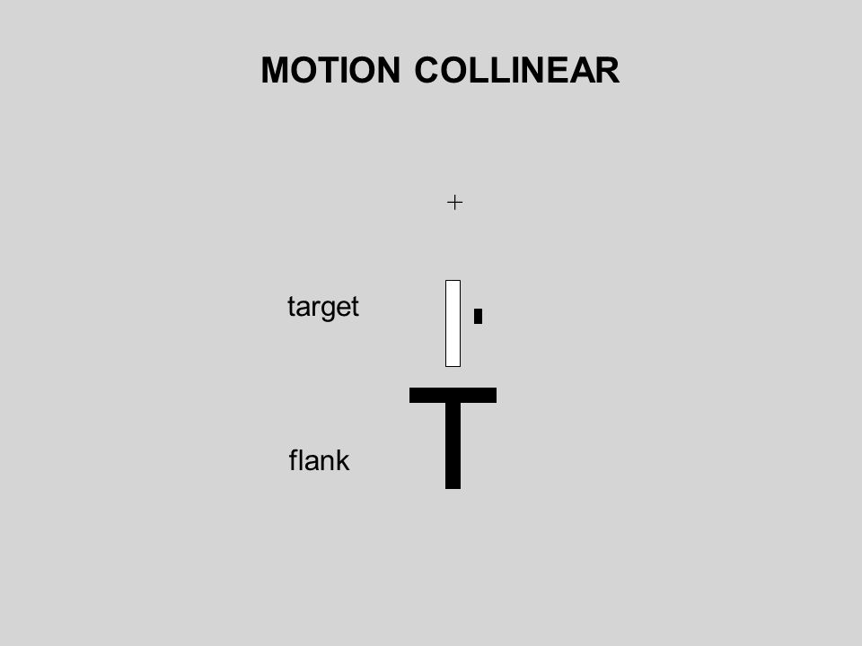 MOTION COLLINEAR + target flank