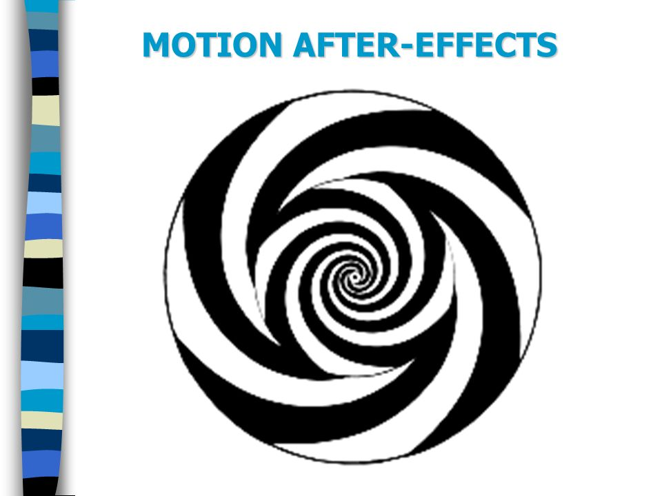 MOTION AFTER-EFFECTS