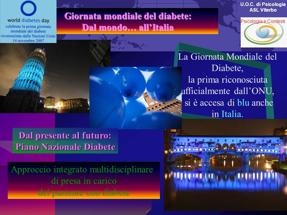 Giornata mondiale del diabete: Dal mondo… all'Italia