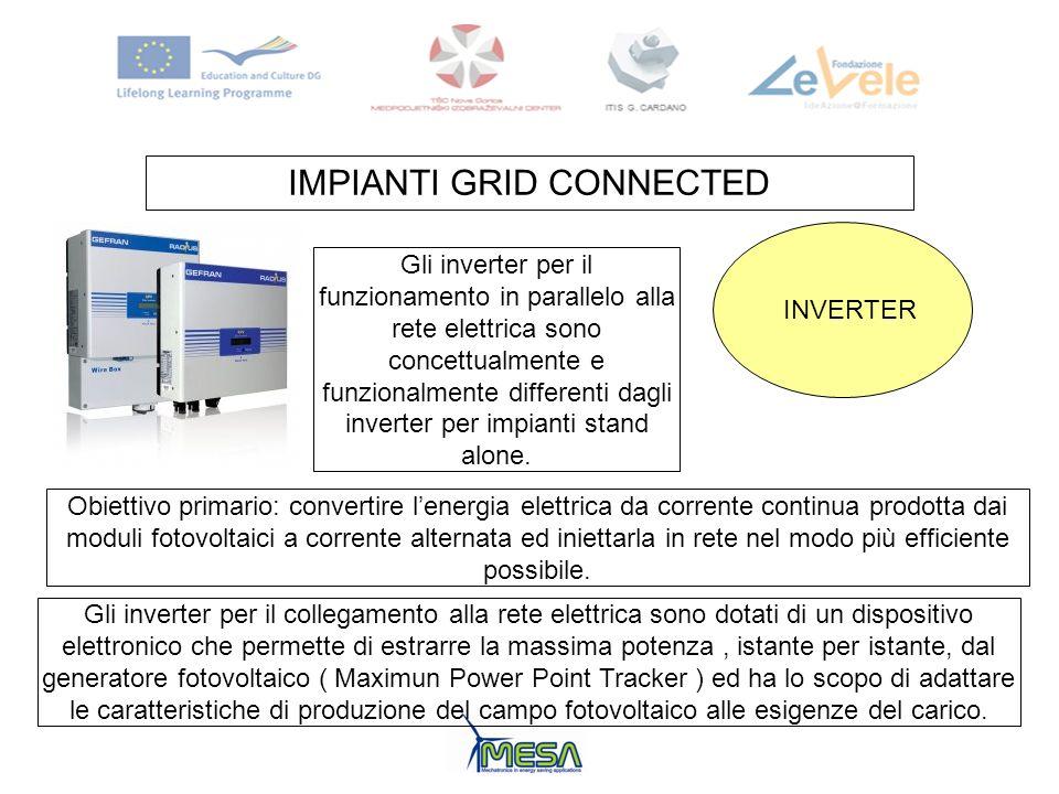 IMPIANTI GRID CONNECTED