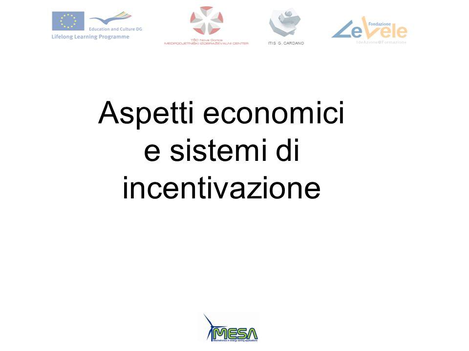 e sistemi di incentivazione