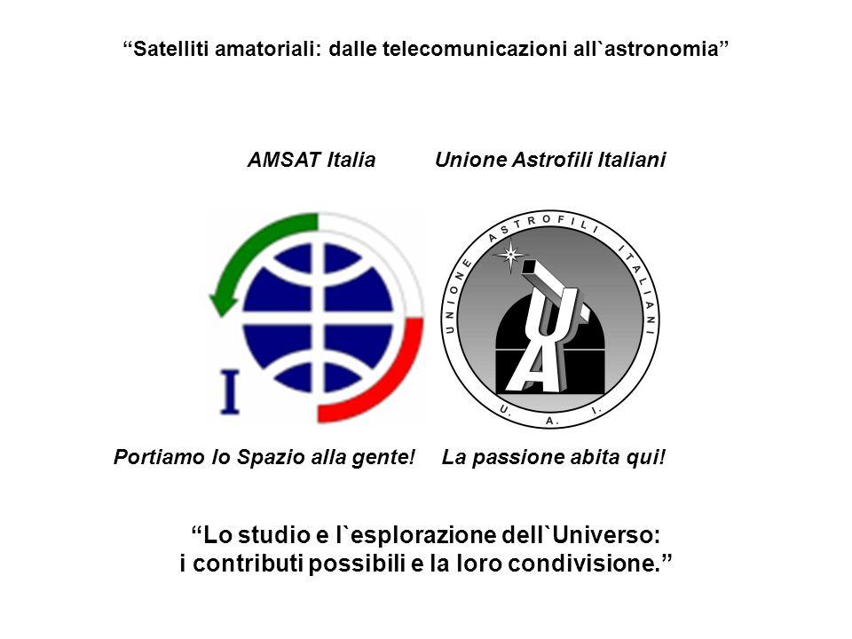 Lo studio e l`esplorazione dell`Universo: