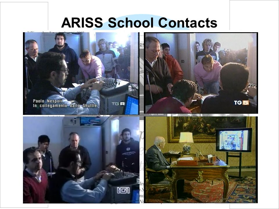 ARISS School Contacts