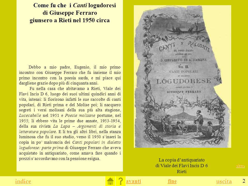 La copia d'antiquariato di Viale dei Flavi Incis D 6 Rieti