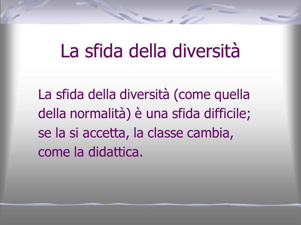 La sfida della diversità