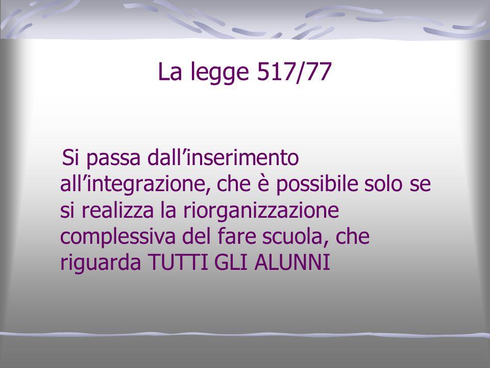 La legge 517/77
