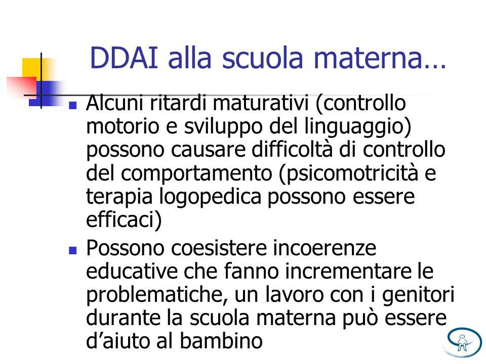 DDAI alla scuola materna…