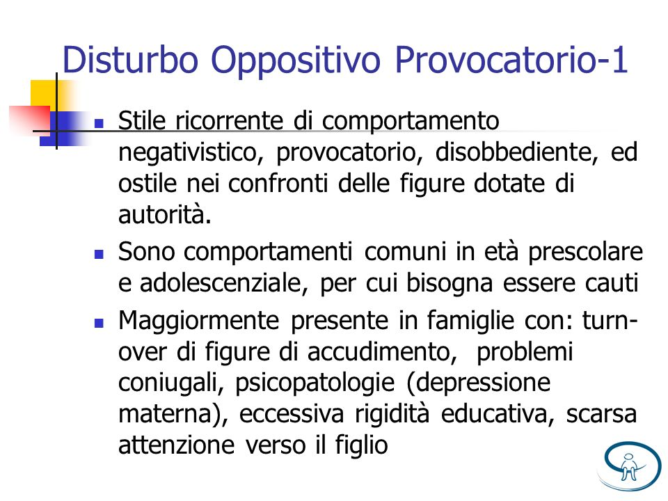 Disturbo Oppositivo Provocatorio-1