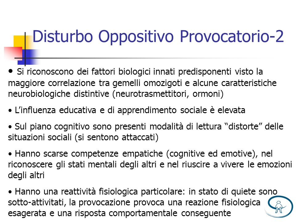 Disturbo Oppositivo Provocatorio-2