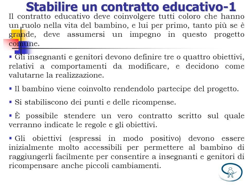 Stabilire un contratto educativo-1