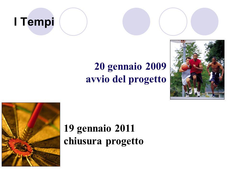 I Tempi 20 gennaio 2009 avvio del progetto