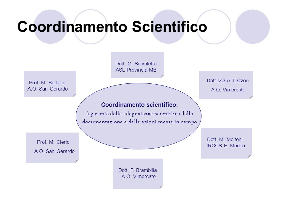 Coordinamento Scientifico